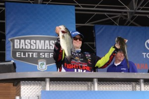 Bill Lowen 2015 Lake Guntersville Elite Series Stage