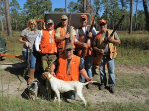 hunting with the Tuckers at The Southernwoods Plantation