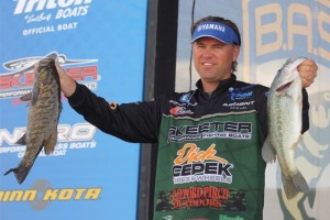 Bassmaster Elite Series Havasu Day Three Leader Clifford Pirch - photo by Seigo Saito - Bassmaster