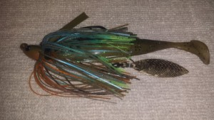 Swim Jig Underspin Modification - photo by Mike Ferman - Tackle Modz