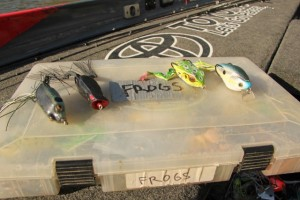 Mike Iaconelli's Frog Box - photo by Alan McGuckin