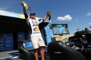 Bassmaster Elite Series St. Lawrence River Champion Edwin Evers - photo by Gary Tramontina