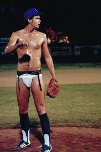 Nuke Laloosh in Garters - Bull Durham Screen Capture