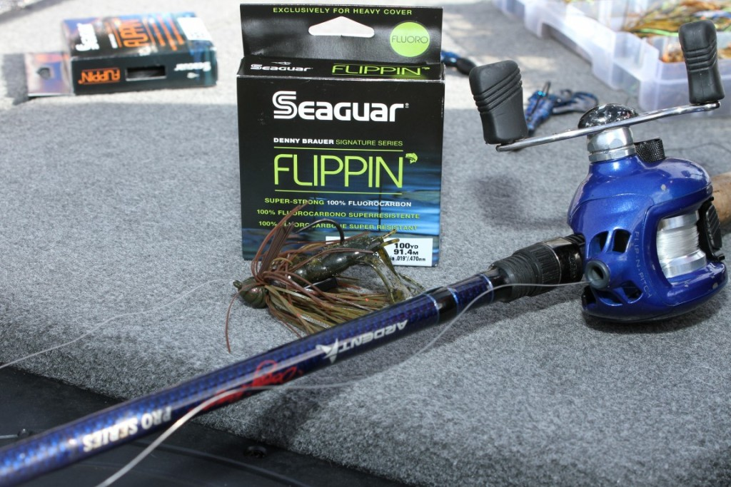 14 Denny Brauer's Favorite Setup for Fishing Heavy Cover