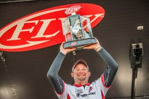 2016 FLW Tour Lake Okeechobee Champion Bradley Hallman - photo courtesy FLW