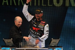 2016 Bassmaster Classic Day One Leader Jason Christie - photo by Dan O'Sullivan