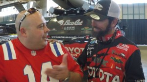 Massole with Mike Iaconelli