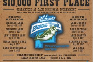 Alabama Bass Trail 2017 Schedule