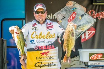2016 BFL All American Day One Leader Jeremy Lawyer - photo courtesy FLW