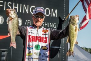 2016 FLW Tour Kentucky Lake Day Two Leader Terry Bolton - photo courtesy Jody White - FLW
