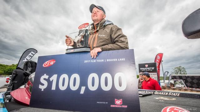 Johnny Mccombs Wins 2017 Flw Tour Beaver Lake