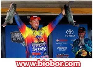Biobor Celebrates Keith Combs Falcon Win