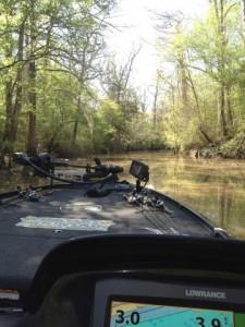 Sabine River Idling