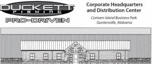 Duckett Header layout