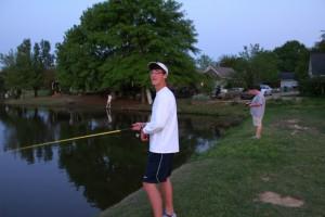 The Anglers Fishing