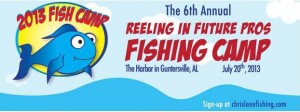 Chris Lane Fish Camp 2013 Logo