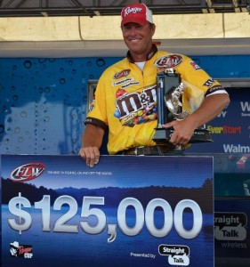 FLW Tour Lake Eufala Winner Randy Haynes