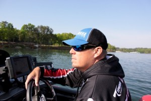 Hardy Says to expect Russ Lane to do well on the Alabama River - photo by Dan O'Sullivan