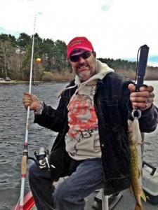 We Love to Fish Jose Pickerel