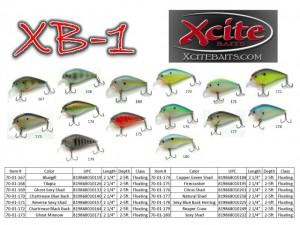 Xcite Baits XB-1 Crankbaits