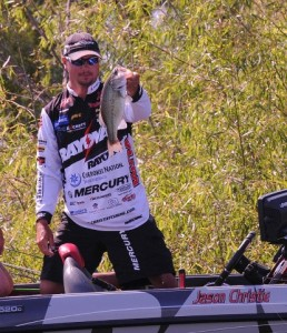 FLW Tour Grand Lake - Day Two Leader Jason Christie