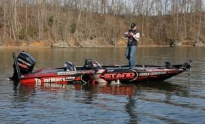 Bradley Roy X-Stand boat