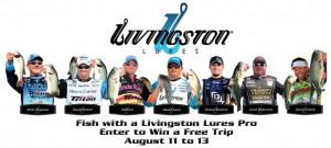 Livingston Fish With a Pro Image (Custom)