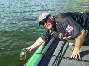 Bill O'Shinn with an SWaver Fish