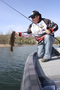 John Murray with a Nice Smallmouth - photo by Dan O'Sullivan