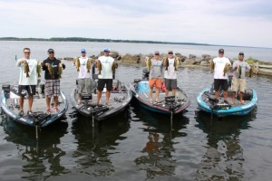 Livingston Lures Fish with a Pro on Oneida Crew - photo by Dan O'Sullivan