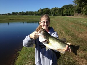 Ivy with a Big Largemouth