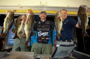 B.A.S.S. Classic Wildcard Day One Leader Shaye Baker - photo courtesy B.A.S.S. - James Overstreet