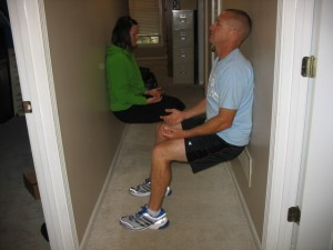 Brent and Bobbi Chapman Wall Sits
