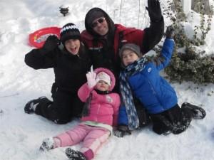 Lefebre Family Snow