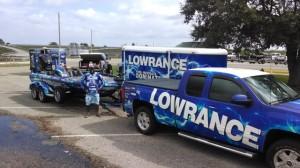 Ish Monroe 2014 FLW Tour Lowrance Rig (Custom)
