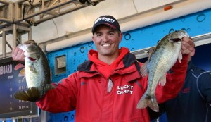 FLW Tour Lake Hartwell Day Two Leader Casey Ashley