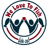 We Love to Fish Logo