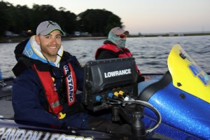 Brandon Lester at Takeoff - photo courtesy Pro Fishing Management