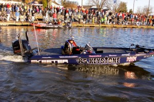 Chris Zaldain 2014 Bassmaster Classic Blastoff - photo by Dan O'Sullivan