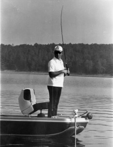 Bill Dance Fishing Black and White - photo courtesy BASS