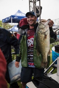 FLW Tour Pickwick Lake Day One Leader Jeff Gustafson