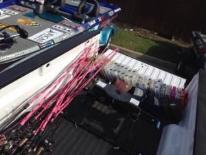 Kevin Short's Stuff Getting Ready for Major League Fishing Select