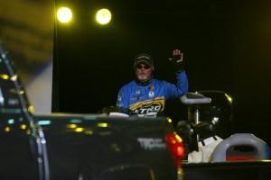 Rick Clunn Enters Arena at 2009 Bassmaster Classic - photo by Dan O'Sullivan