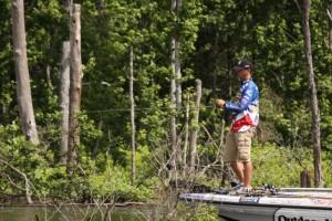 Todd Faircloth - photo courtesy Major League Fishing