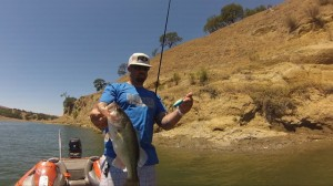 Zak Elrite with NorCal Largemouth Taken on River2Sea's Goon