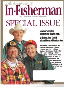 In-Fisherman 25 Anniversary Cover Al Lindner Ray Scott Johnny Morris