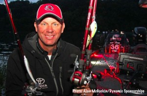 Kevin VanDam at Chickamauga - photo by Alan McGuckin