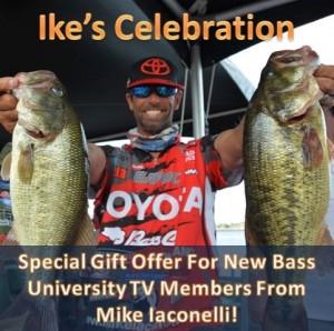The Bass University Ike Celebration Special Offer
