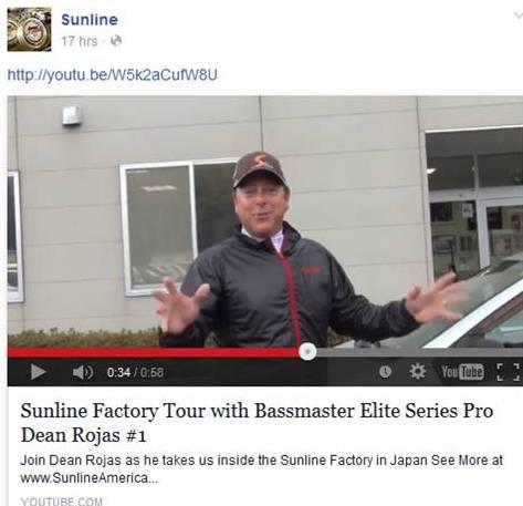 Sunline Dean Rojas Tour