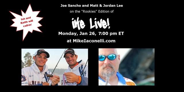 Ike Live  - Jan 26 - Joe-Matt-Jordan-Ish Keith
